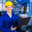 Engineer with laptop computer — Stock Photo #59479945