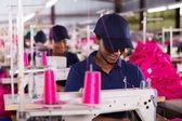 縫製工場労働者 — ストック写真