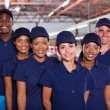 Clothing factory workers — Stock Photo #59691141