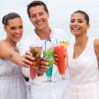 Friends having cocktails — Stock Photo #61948737