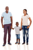 Couple and son posing — Stock Photo