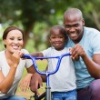 Family having fun together — Stock Photo #66095733