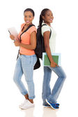 African american college friends  — Stock Photo
