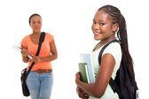 African american university student portrait — Stock Photo