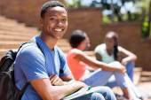 African college boy portrait  — Stock Photo
