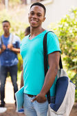 University student looking at the camera — Stock Photo