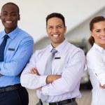 Car sales staff — Stock Photo #71205339