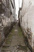 Ancient lane in Fengjing, Shanghai — Stock Photo
