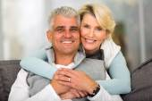 Middle aged couple relaxing — Stock Photo