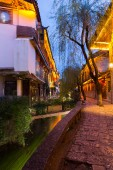 Lijiang old town — Stock Photo