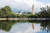 Dali white pagodas — Stock Photo