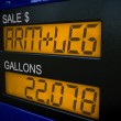 Costs of gas are an arm and a leg — Stock Photo #62661277