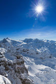 View from Titlis to the South — Stock Photo