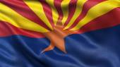 US state flag of Arizona — Stock Photo