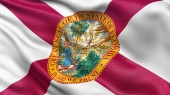 US state flag of Florida — Stock Photo