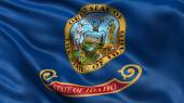 US state flag of Idaho — Stock Photo