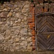 Old fortress door  — Stock Photo #56152815