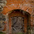 Old fortress door — Stock Photo #56152821