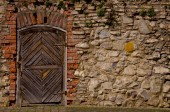 Old fortress door  — Stock Photo