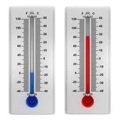 Weather thermometers — Stock Photo