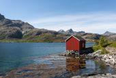 Norveç peyzaj. — Stok fotoğraf