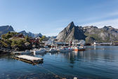 Lofoten landscape. — Stock Photo