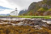 Church on lofoten islands, Norway. — Stock Photo