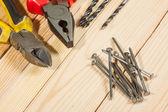Rozmanité pracovní nástroje — Stock fotografie