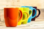 Colorful cups. — Stock Photo