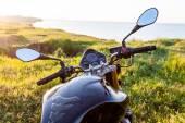 Cestování na motocyklu. — Stock fotografie