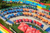 Colorful Aqua Park, Mamaia, Romania — Stock Photo