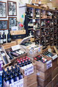 Chianti Wine Bottles In Sale  — Stock Photo