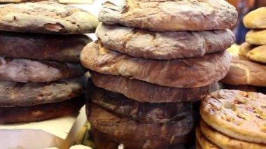 Apulian Bread — Vídeo Stock
