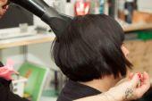 Hair Drying — Foto de Stock