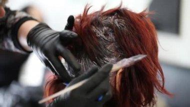Hair Dye — Stock Video