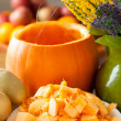Pumpkin Pulp For Soup — Stock Photo #58833539