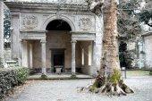 Loggia In Gardens Of Villa Lante — Stock Photo
