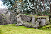 Statue Of Fury, The Park Of Monsters, Bomarzo, Italy — Stockfoto
