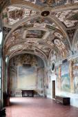 Casino Gambara Villa Lante Bagnaia Italy — Stock Photo