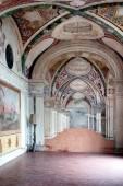 Frescoes In Casino Montaldo Villa Lante Italy — Stock Photo