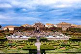 Square Fountain Villa Lante Italy — Stock Photo