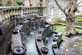 Fountain Of The Lamps Detail Villa Lante Italy — Stock Photo