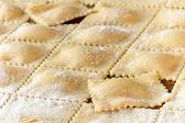 Homemade Piedmont Agnolotti — Stock Photo
