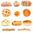 Various Bread Types — Stock Photo #65636133