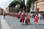 Birth Of Rome Festival 2015 — Stock Photo