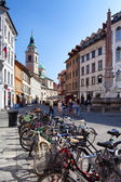 Bicycles In Ljubljana — Stock Photo