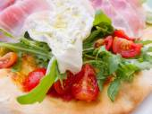Hearty breakfast of fried eggs and bacon — Fotografia Stock
