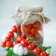 Canned tomatoes — Stock Photo #53042731