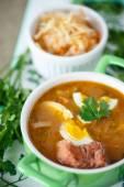 Lahana çorbası — Stok fotoğraf