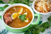капустный суп — Стоковое фото